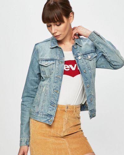 Джинсовая куртка укороченная на пуговицах Tally Weijl