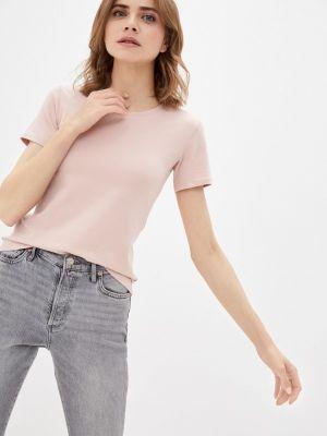 Белая футболка с короткими рукавами Mana