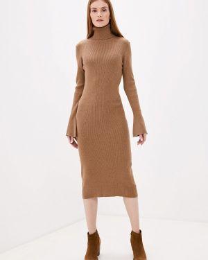 Платье осеннее бежевое Rodier