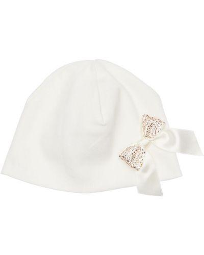 Bawełna bawełna biały kapelusz La Perla