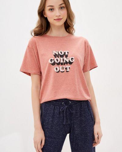 Домашняя розовая футболка Marks & Spencer