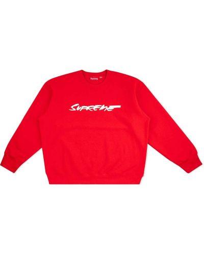 Bawełna bawełna z rękawami bluza Supreme