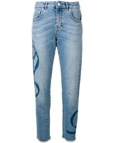 Прямые джинсы классические - синие Escada Sport