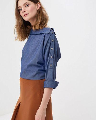 Синяя блузка Vittoria Vicci