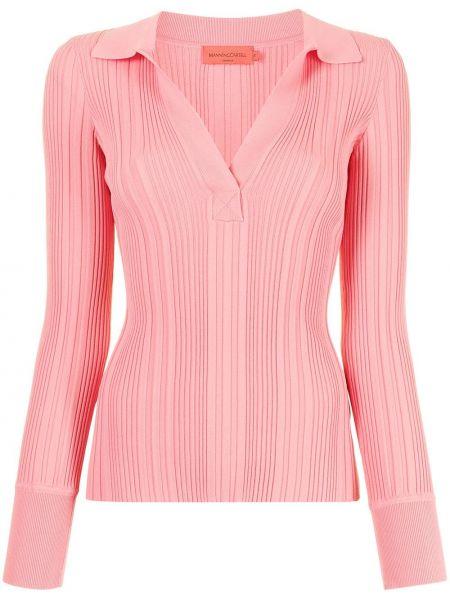 Топ с длинными рукавами - розовый Manning Cartell