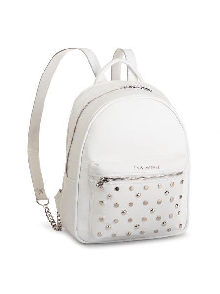 Biały plecak Eva Minge