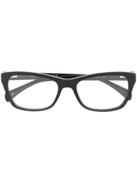 Черные очки для зрения прямоугольные Ray-ban