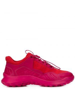 Розовые кроссовки на пуговицах Camper Lab