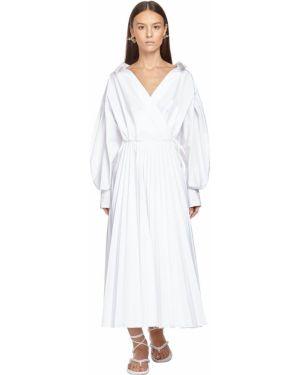 Платье миди макси на пуговицах Valentino