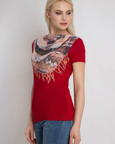 Красная свободная футболка Finn Flare