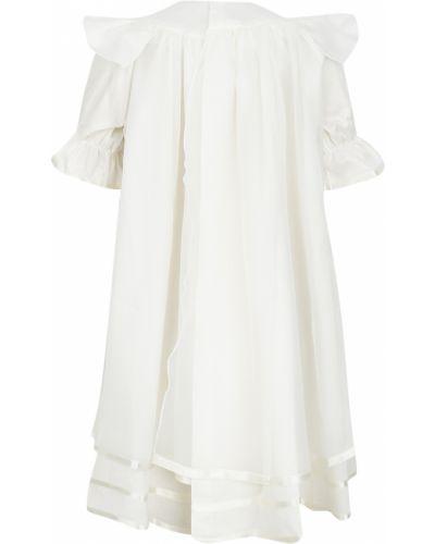 Платье с рукавами хлопковое атласное ангел мой