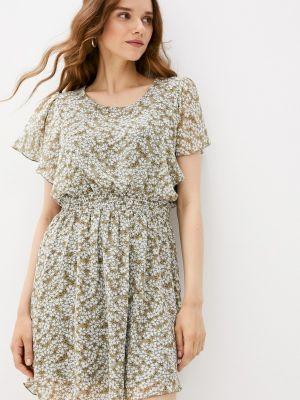 Прямое платье хаки Grafinia