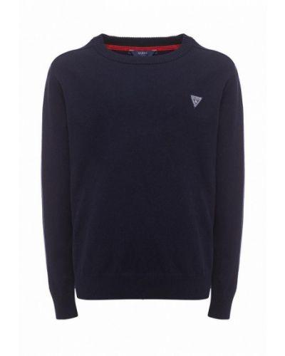 Синий свитер Guess
