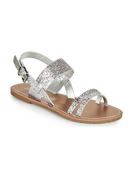 Sandały srebrne Chattawak