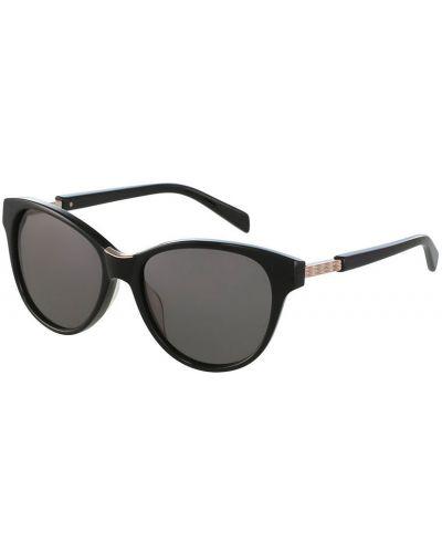 Солнцезащитные очки кошачий глаз черные Balmain