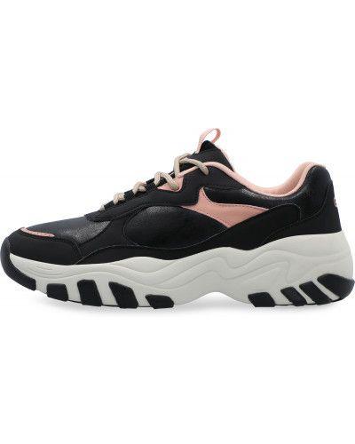 Черные кроссовки на шнуровке Gsd