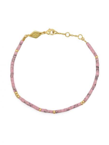 Różowa złota bransoletka ze złota pozłacana Anni Lu