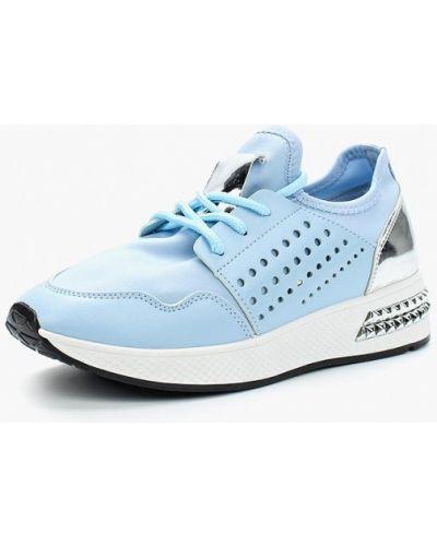 Голубые кроссовки из искусственной кожи Saivvila