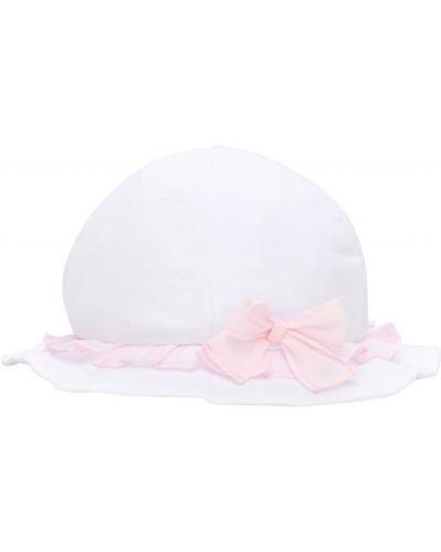 Biały bawełna bawełna kapelusz Il Gufo