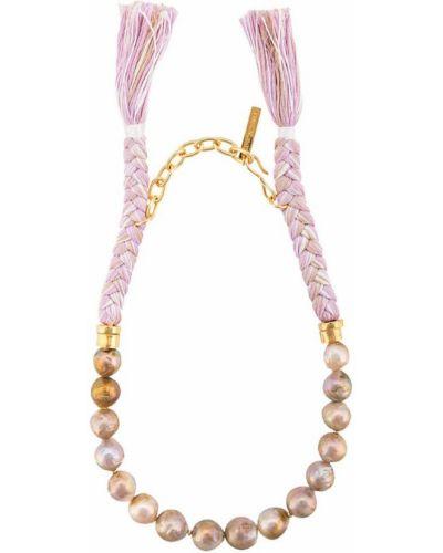 Фиолетовое ожерелье Lizzie Fortunato Jewels