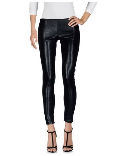Черные леггинсы Elisabetta Franchi Jeans For Celyn B.