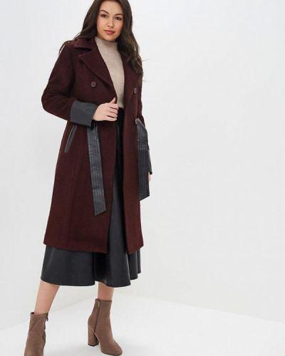Пальто бордовый пальто Style National