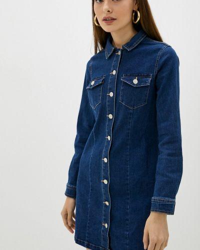 Синее джинсовое платье Softy