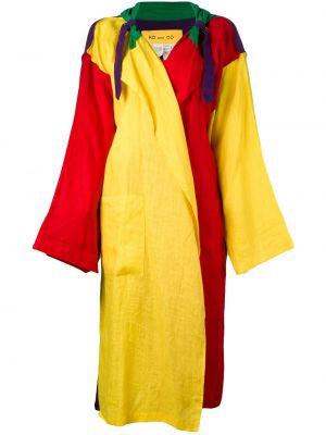 Свободное длинное пальто с капюшоном свободного кроя Jc De Castelbajac Pre-owned