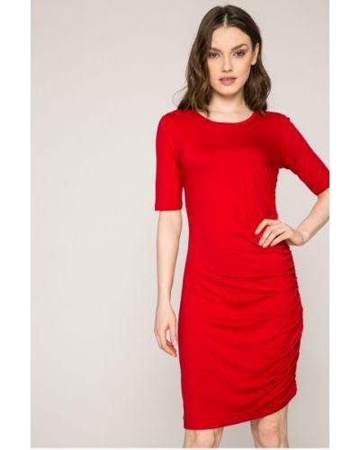 Платье мини со складками облегающее Answear