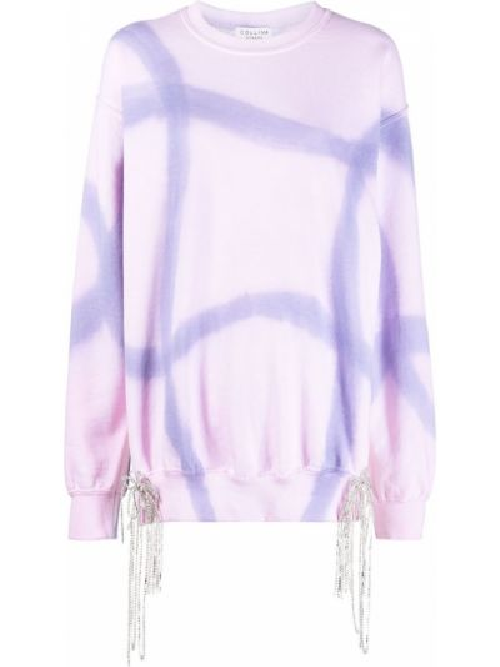 Bluza dresowa - fioletowa Collina Strada
