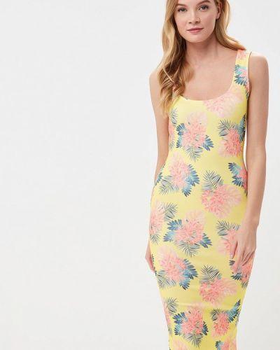 Платье платье-майка желтый Edge Street