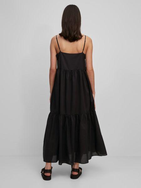 Черное платье на бретелях Marc O'polo Denim
