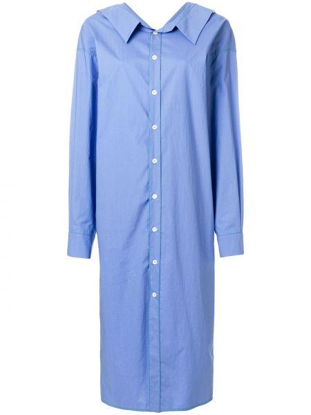 Летнее платье футляр бирюзовый Marni