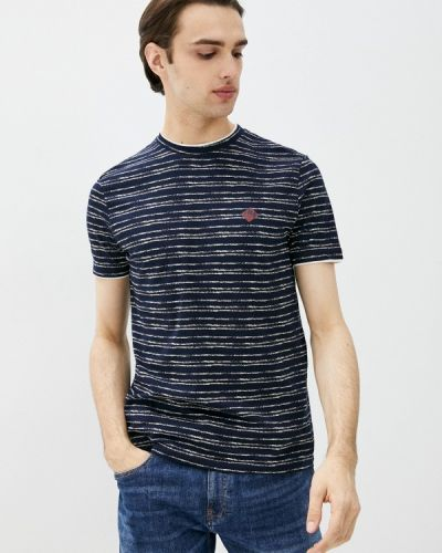 Синяя футболка с короткими рукавами J. Hart & Bros