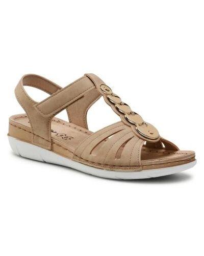 Beżowe sandały Inblu