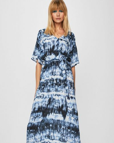 Платье с поясом в стиле бохо из вискозы Medicine