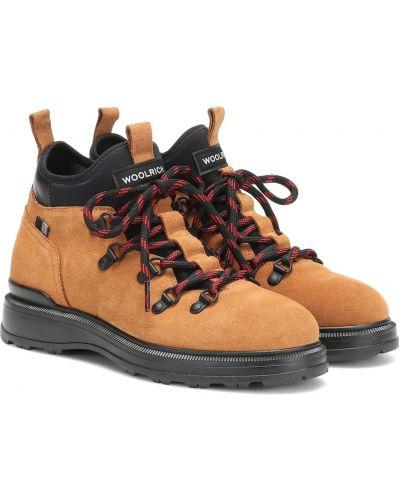 Ботинки трекинговые шерстяные из верблюжьей шерсти Woolrich