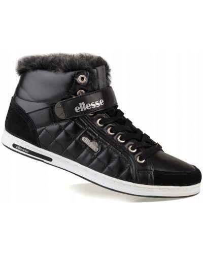 Włókienniczy czarny buty zasznurować Ellesse