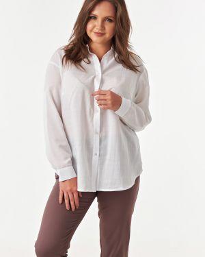 Блузка с длинным рукавом белая базовый Victoria Filippova