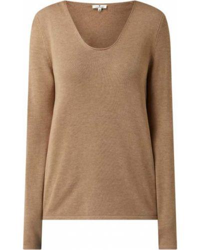Brązowy sweter bawełniany Tom Tailor