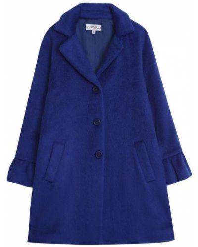Пальто прямое однобортное Simonetta
