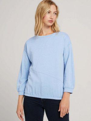 Голубая футболка осенняя Tom Tailor Denim
