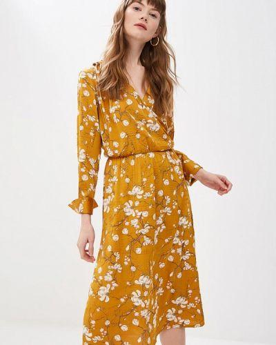 Платье - желтое Clabin