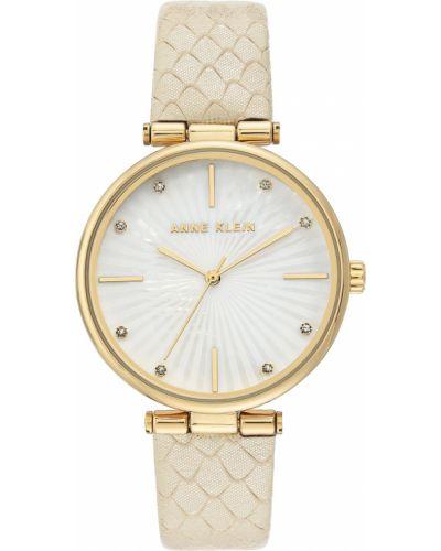 Часы с ремешком - белые Anne Klein