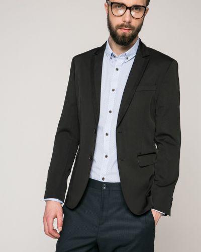 Черный костюм классический Guess Jeans