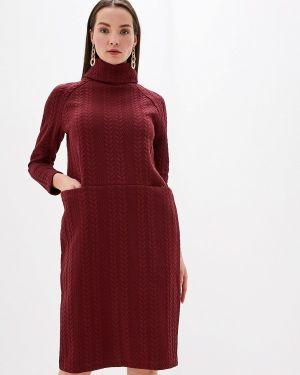 Платье бордовый вязаное Profito Avantage