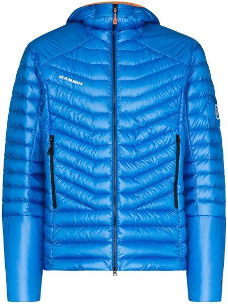 Куртка с капюшоном - синяя Mammut