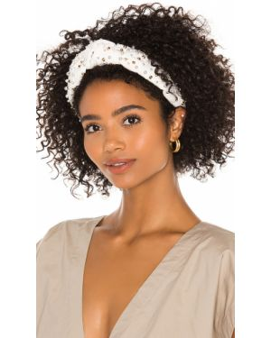 Beżowy kapelusz bawełniany pozłacany Lele Sadoughi