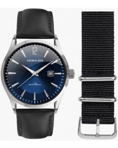 Черные часы George Kini