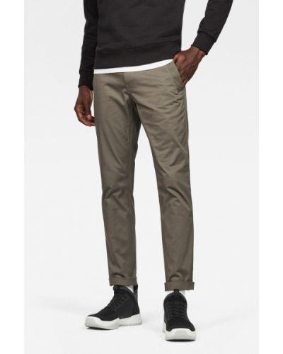 Зауженные брюки милитари с карманами G-star Raw